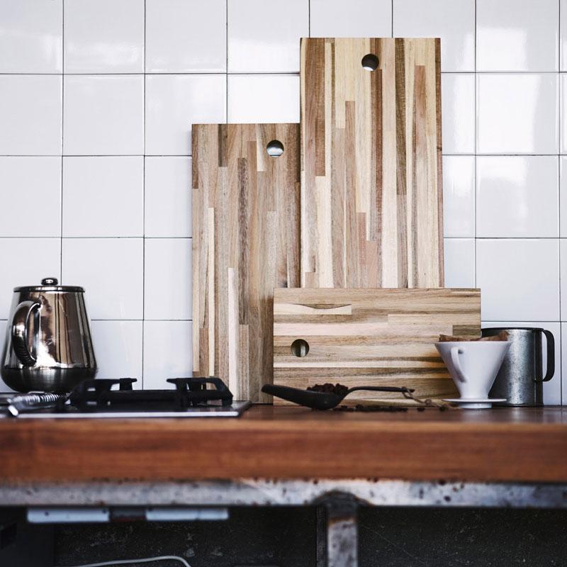 Neu bei IKEA ab August: Skogsta Kollektion aus Holz für Küche und ...
