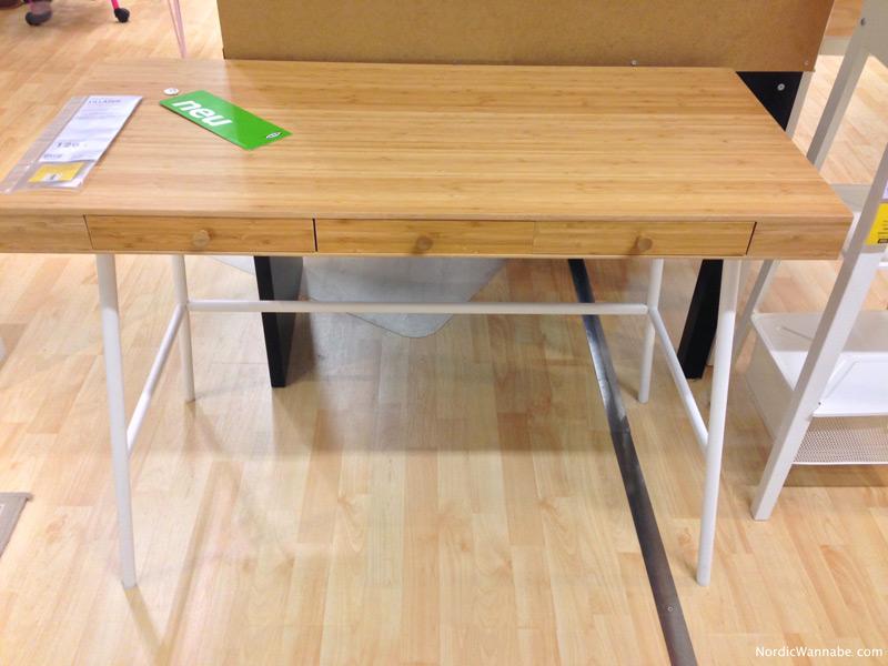Eckschrank Schlafzimmer Ikea ~ LILLÅSEN – ein neuer IKEA Schreibtisch – perfekt für Blogger?