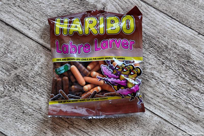 Haribo aus Dänemark, Labre Larver, Süßigkeit, Lakritz, Skandinavien, Blog, Dänemark