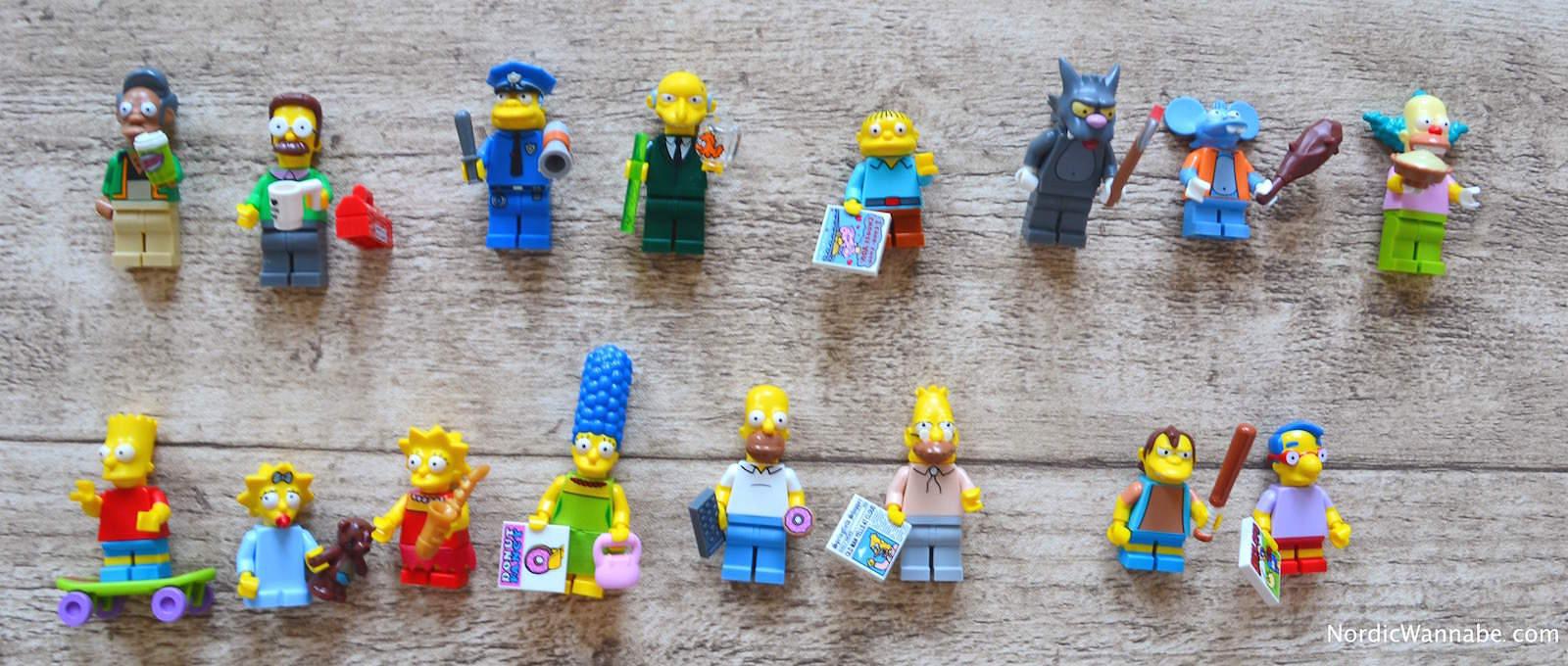 LEGO Simpsons Serie 1