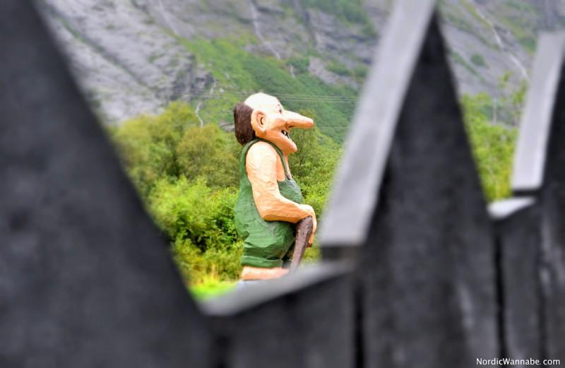 Troll Norwegen