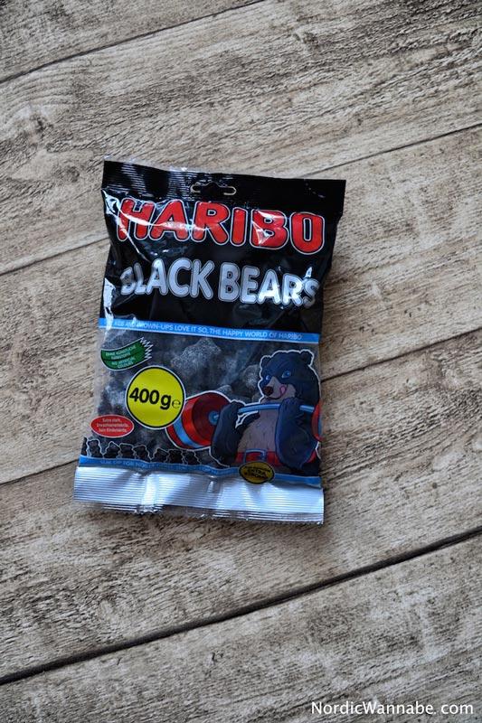 HARIBO Lakritz stark Blackbeard Salmiak Lakritz aus Skandinavien