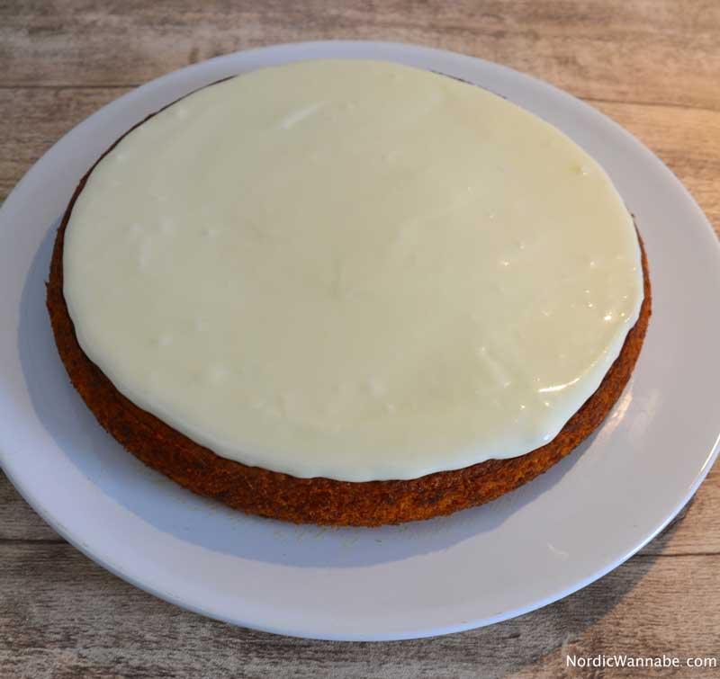 Svenska Morotskaka (Schwedischer Möhrenkuchen) -