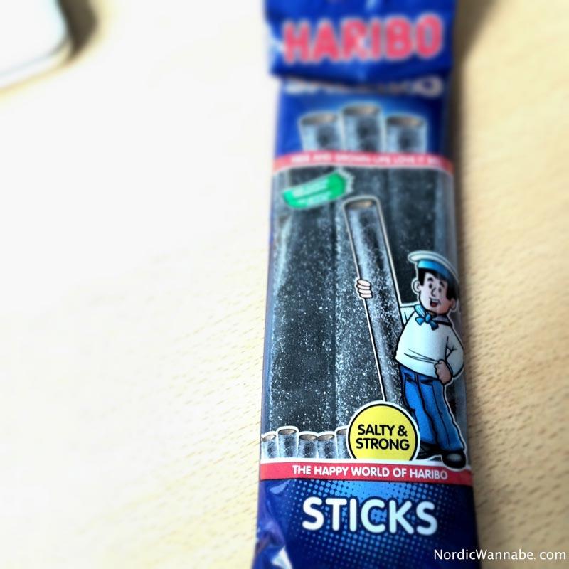 Haribo Sticks Süßigkeiten aus Skandinavien