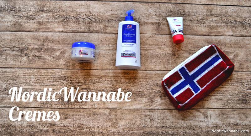 Neuronen Creme, Handcreme, Bodylotion, Feuchtigkeitscreme, Beutel norwegische Flagge, Bundle, Set , Weihnachten, Blog, Skandinavien