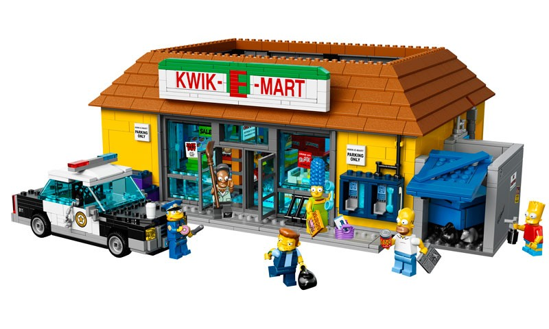 LEGO Simpsons 71016 Kwik e Markt exklusiv Apu Homer
