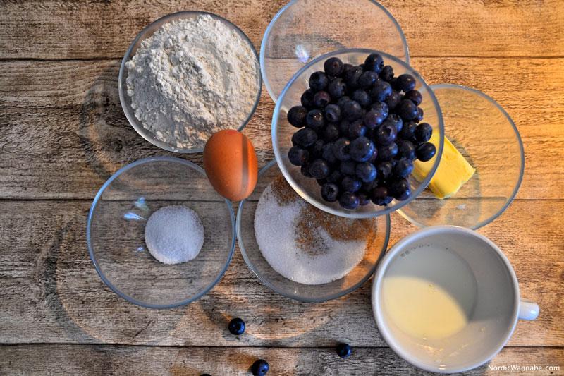 Schwedische Muffins mit Blaubeeren Rezept www.nordicwannabe.com