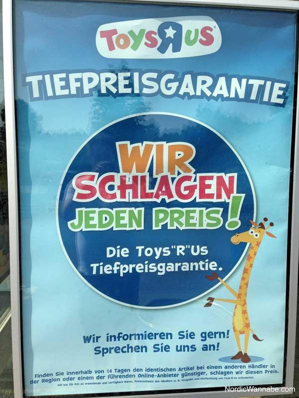 Toysrus, Toys'r'us Tiefpreisgarantie verweigert Skandal