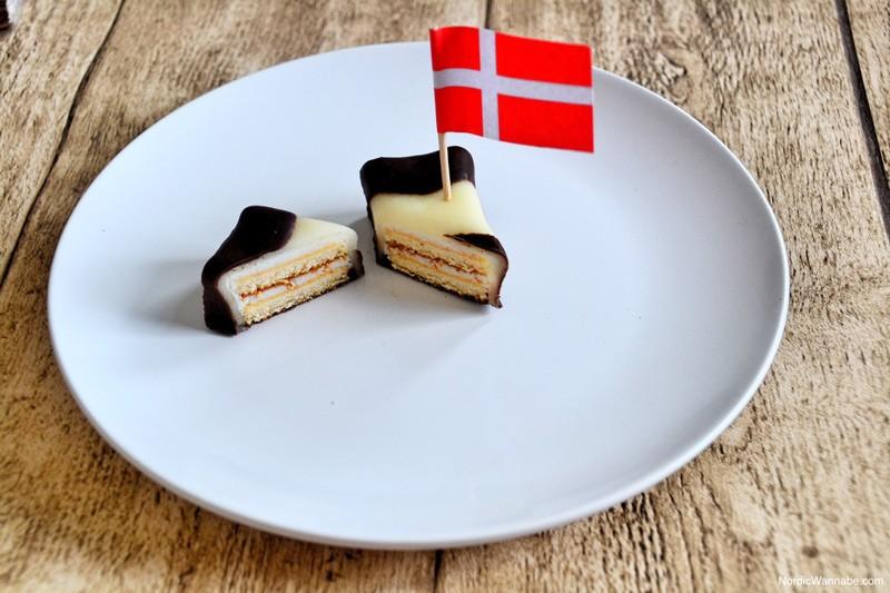 Gebäcksnitte, Gebäcksschnitte, Kuchen, Dänemark, Skandinavien, Blog, Gebäck, Backwaren, Marzipan