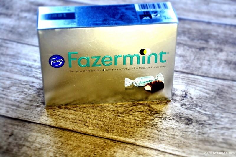 Pfefferminz, Schokolade, Finnland, lecker, silber, Verpackung, Fazermint, Skandinavien, Blog, Finnland