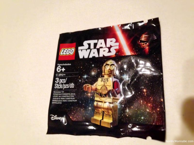 C3PO, limitiert, Lego Star Wars, Glaeria Kaufhof, Disney, Das Erwachen der Macht, The Force Awakens, Neuheit 2016, 2015, Forcefriday Force Friday Event Hannover