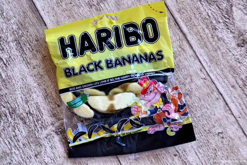 Lakritz aus Dänemark, Black Bananas, Haribo, Dänemark, Blog, Affe, Skandinavien, Lakritz, Blog