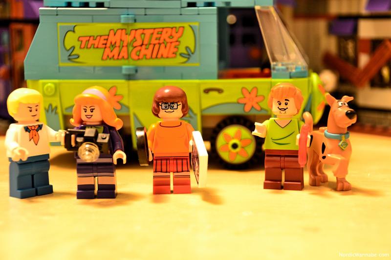 Neu, LEGO, Scooby Doo, Comic, Serie, Mystery Maschine, Spielzeug, Dänemark, Monsters, Halloween , 2015