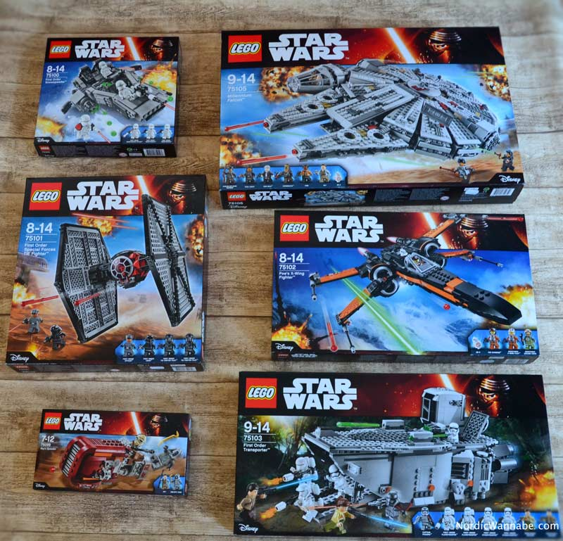 LEGO, Lego Star Wars, 2015 2016, AFOL, Erwachen der Macht, The Force Awakens, BB 8, Millennium Falke Falcon, 75100 First Order Snowspeeder, Special Forces TIE Fighter 75101, Rey's Speeder 75099, Poe's X-Wing Fighter 75102, Transporter 75103, Kylo Ren's Commans Shuttle 751104, 75105 Millenium Falcon, C3PO, Lanyard, Dänemark, Männerspielzeug, Gadget