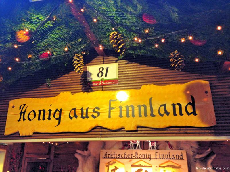 Weihnachtsmarkt Osnabrück.Finnischer Honig Senf Und Lachs Auf Dem Osnabrücker Weihnachtsmarkt