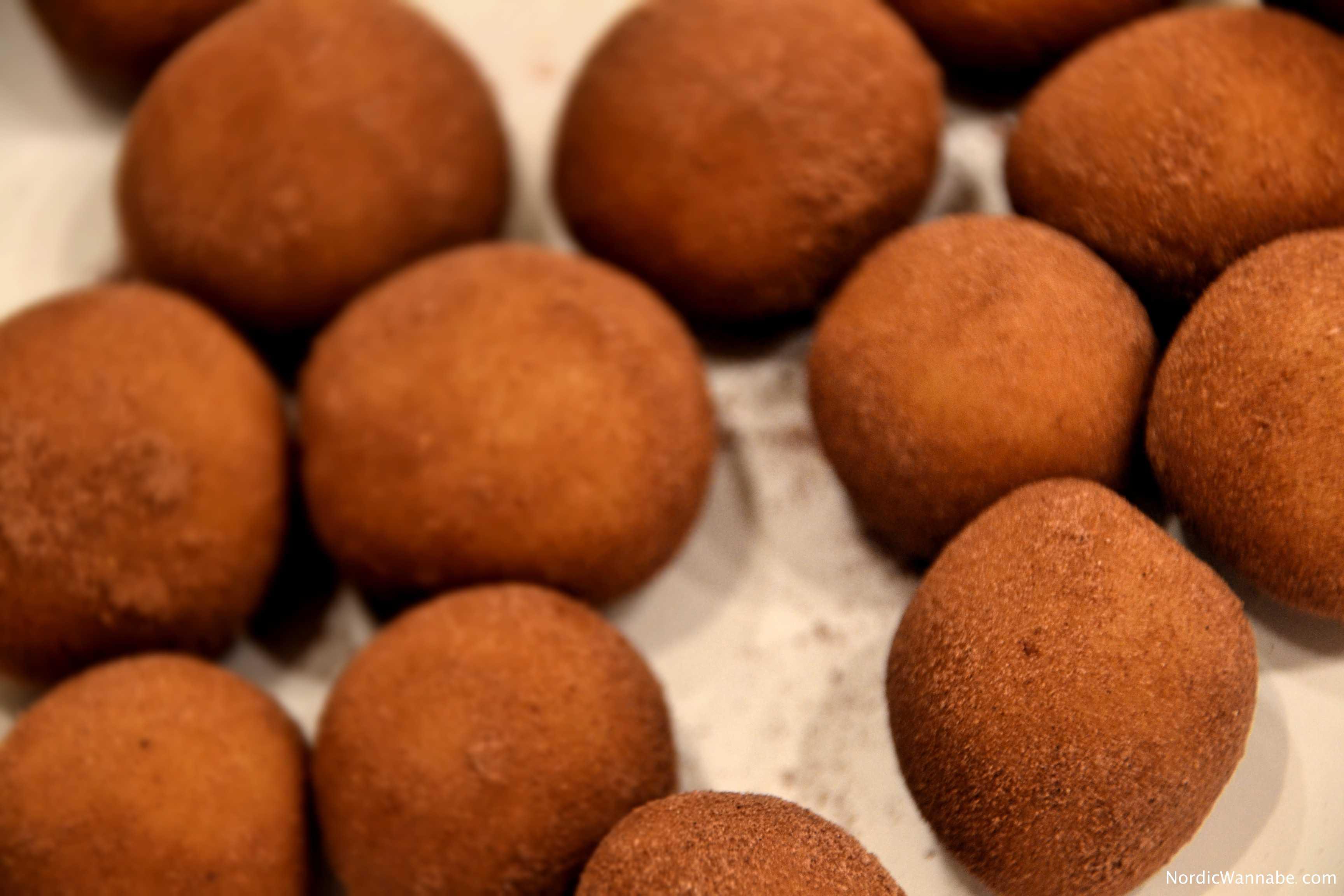Marzipankartoffeln, selbst gemacht, ohne Backen, Skandinavien, skandinavisch, lecker, Kardamom, Weihnachten, Rezept