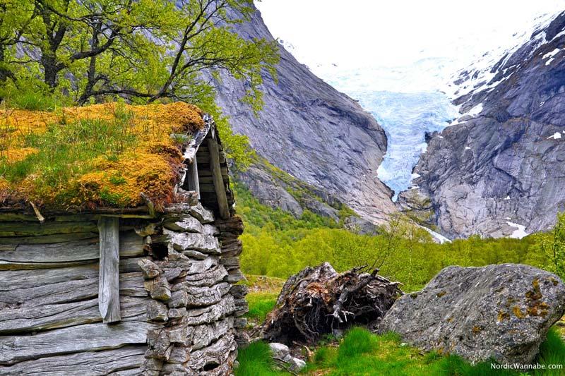 Olden, Stryn, Norwegen, Skandinavien, Blog, Kreuzfahrt, NeoRomantica, Costa, Berge, Schnee, Natur, Wandern, Eis, Gletscher, Wald, Reisetipps