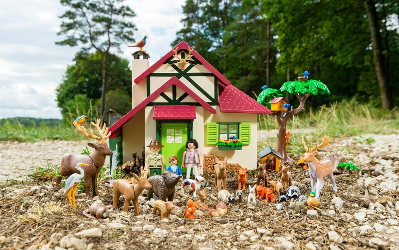 Neues Playmobil Thema Forsthaus, Wald, Waldtiere, Norwegen, Schweden, Skandinavien, Spielzeug, Kinder, Weihnachten, 2016, Neuheit, Blog, Empfehlung,