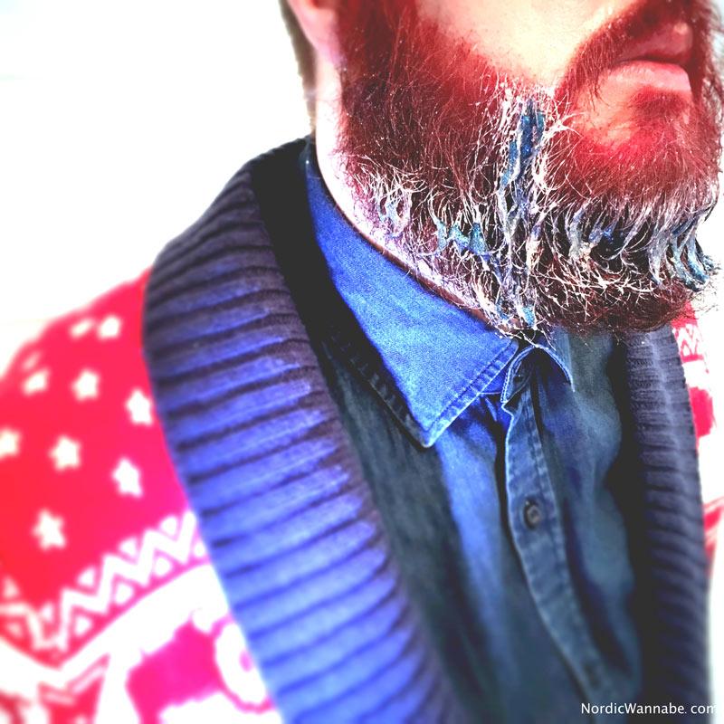 Bart, Blogger, Rasur, Blog, Persönlichkeit, rot, Hipster, Flagge, Norwegisch, Norwegen