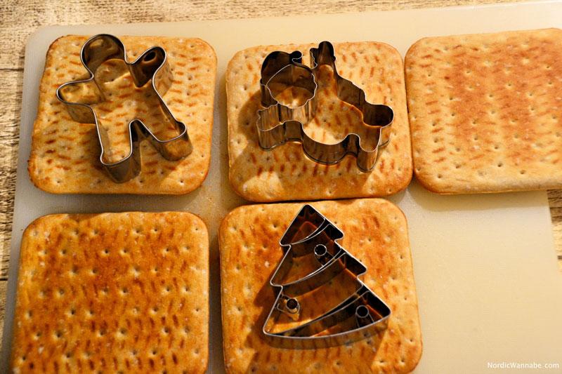 Last Minute, Kekse, Plätzchen, ohne Backen, Schweden, Softbröd, Blog, Weihnachten, Skandinavien, Zuckerguss