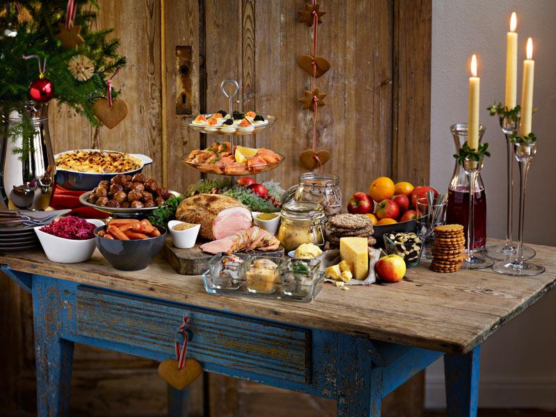 Ikea Weihnachten.Schwedisches Weihnachtsbuffet Julbord Bei Ikea