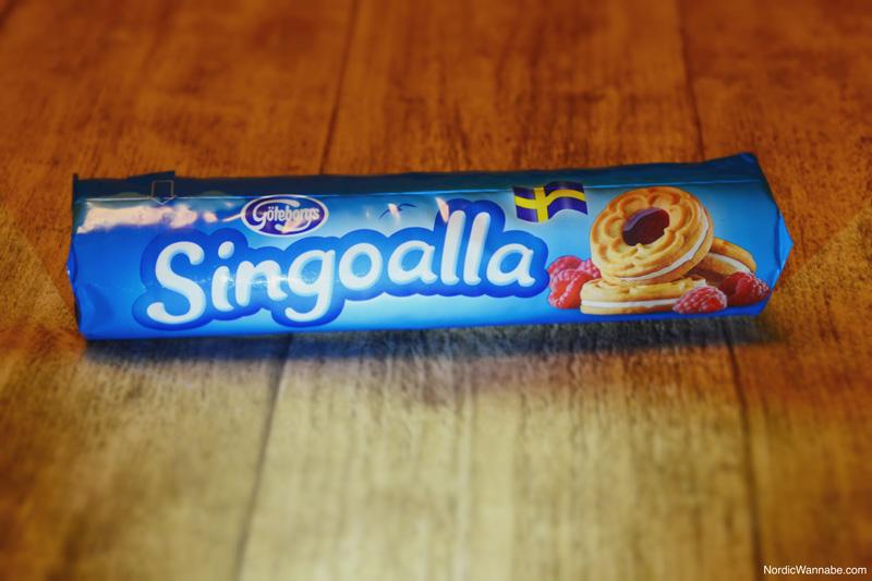 Schwedische Kekse, Schweden, Skandinavien, Blog, Göteborgs, Singoalla, Himbeere, Flagge, Creme