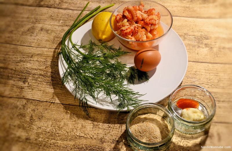 Krebsfleischfrikadelle, Schweden, Skandinavien, Blog, Rezept, Kochen, lecker, Fisch, Schwedische Frikadellen