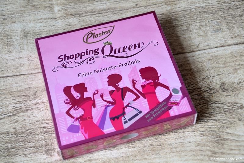 Shopping Queen, Shoppingqueen, Schokolade, VOX, Guido Maria Kretschmer, Praline, Clutch, Beautycase, Piasten, Schoko, Blog, Fashion, Design