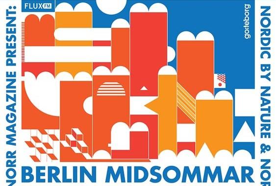 Berlin Midsommar Festival, Mittsommer, Schweden, Blog, Skandinavien, Urban Spree, DJ