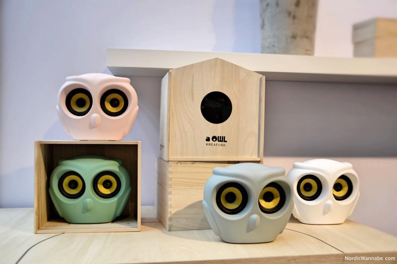 Kreafunk, Lautsprecher, Kopfhörer, urban, Design , Dänemark, Eule, Blog, Skandinavien, Sound, Holzbox