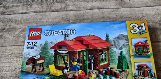 Dänemark-Blog, Geschenk-Ideen aus Skandinavien, LEGO 31048, Creator, Hütte am See, Lakeside Lodge, Holzhütte, Elch, Blog, Skandinavien, Dänemark