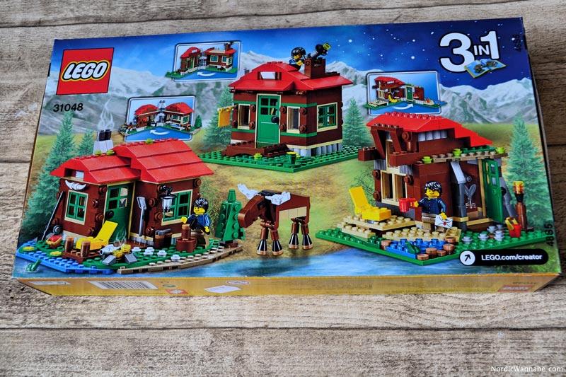LEGO 31048, Creator, Hütte am See, Lakeside Lodge, Holzhütte, Elch, Blog, Skandinavien, Dänemark