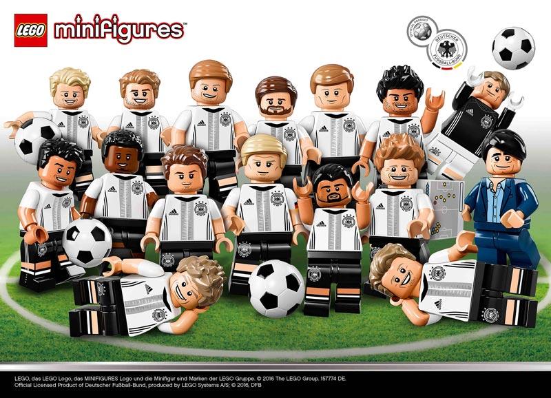 LEGO DFB – Mannschaft, LEGO, New, neu, Mai, Minifiguren, Soccer, Fussball, DFB, Mannschaft