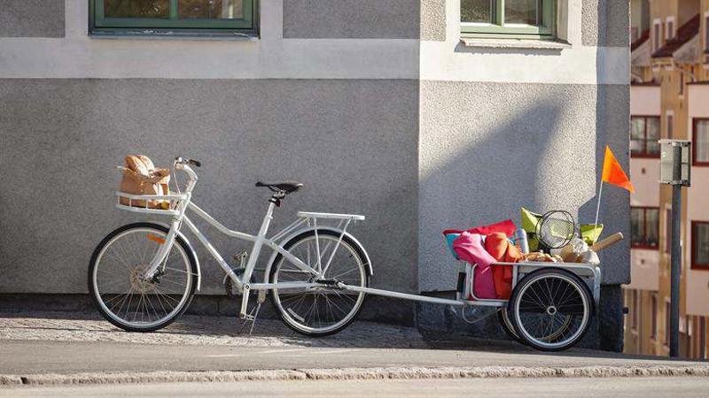 IKEA. Fahrrad, Sladda, Design, Hollandrad, Skandinavien, Blog
