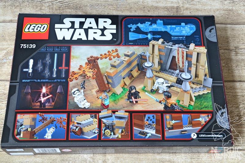 LEGO Star Wars 75139 Battle on Takodana , Force awakens, 2016, 2015, neu, new, Review, LEGO, Star Wars, Dänemark, Skandinavien, Blog