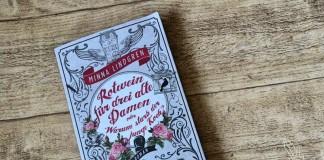 Rotwein für drei alte Damen oder Warum starb der junge Koch, Buch, Finnland, finnisch, Minna Lindgren, Skandinavien, Blog, Miss Marple