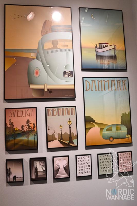Bilder aus Skandinavien, Vissevasse, Bergen, Norwegen, Schweden, Dänemark, Kopenhagen, Oslo, Blog, Grafiken, Poster