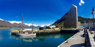 Norwegische Gipfelzentrum , Åndalsnes, Norwegen, Fjordnorwegen, Berge, Urlaub, Reise, Kreuzfahrt, Blog, Skandinavien, Gebirge, Haakon