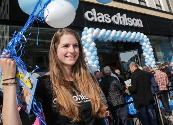 Clas Ohlson, Eröffnung, Hamburg, Jungfernstieg, Schweden, Skandinavien, Blog