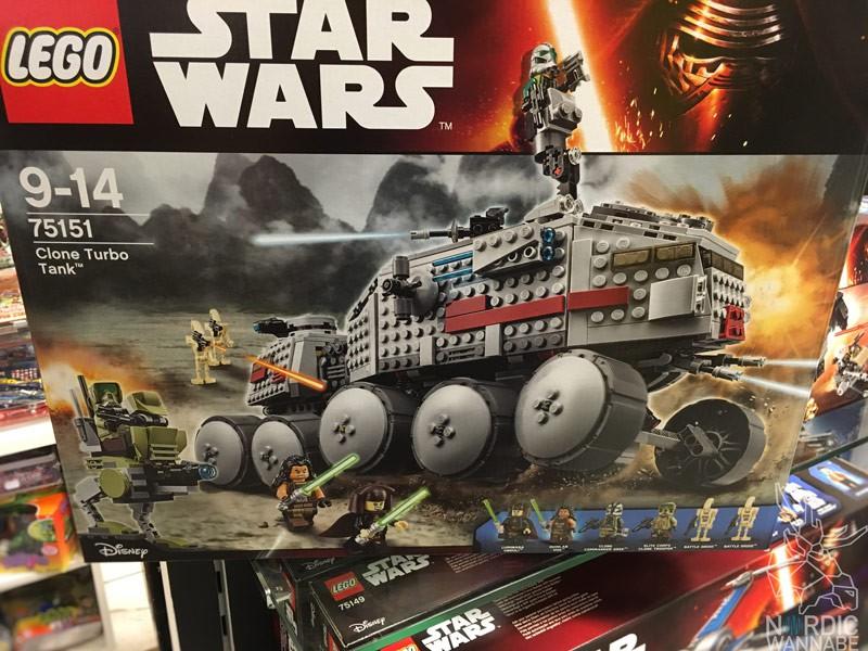 LEGO 75151 CloneTurboTank, LEGO, Star Wars , LEGO Star Wars, 2016, Neuheit, neu, new, Sets, Blog