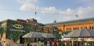 IKEA Food Bus, IKEA, Küche, Sommer, Mittsommer, Urban, Köttbullar , Lachs, Foodtruck, Streetfood, Hannover, Blog, Schweden, Skandinavien, schwedisch, Bahnhof