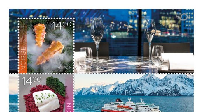 Briefmarken, Norwegen, Hurtigruten, Haken, Mette, Blog, Oslo, Skandinavien, Porto