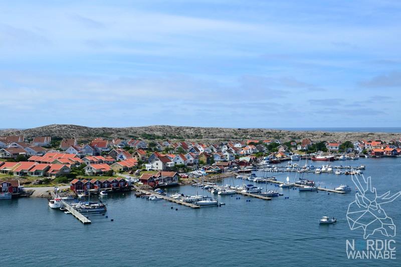 Kungshamn, Smögen, Mittsommer, Hafen, Brygge, Schweden, Skandinavien, Blog, rote Holzhäuser
