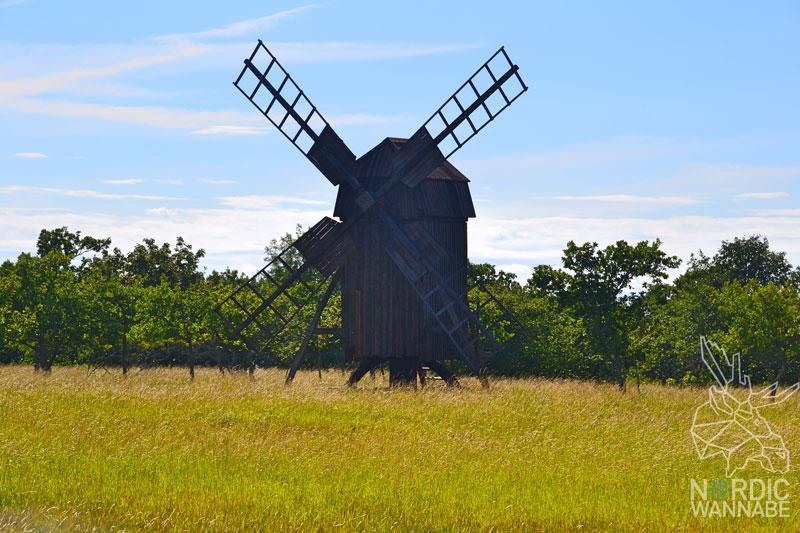 Öland Insel, Schweden, schwedisch, Urlaub, Touristen, Natur, Windmühlen