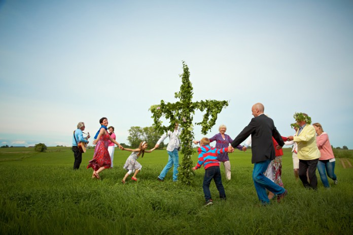 Midsommar, Mittsommer, Schweden, Tradition, Termin, Fest, Blog, Skandinavien