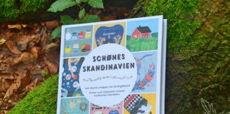 Schönes Skandinavien, Buch, Rezension, Besprechung, Kajsa Kinsella, Blog, Schweden, Norwegen, Finnland, Island, Dänemark