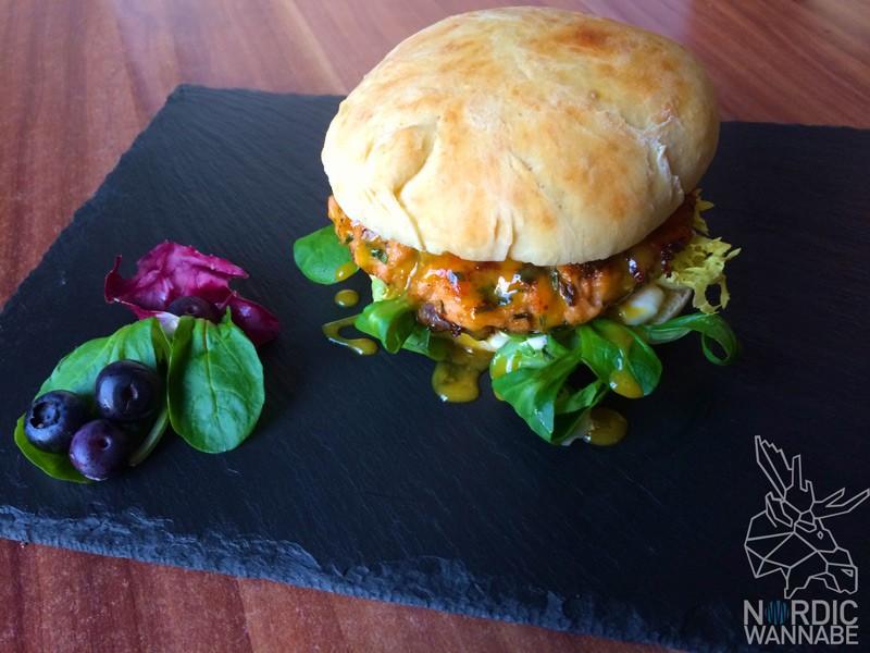 Lachsburger, Norwegen, Lachs, Hamburger, Buns, Rezept, homemade, selbstgemacht, selbst gemacht, Norwegisch, Blogger, Blog, Food, Skandinavien Blog