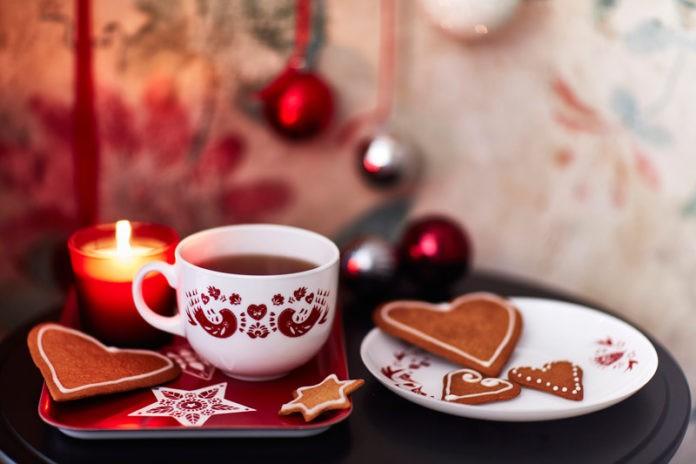 IKEA, 2016, Weihnachten, Weihnachtsdeko, Dekoration, schwedisch, Blog, Skandinavien, Schweden, Geschenkpapier, Dalapferd, Kerzen, Baum schmuck, Backen, Neuheiten
