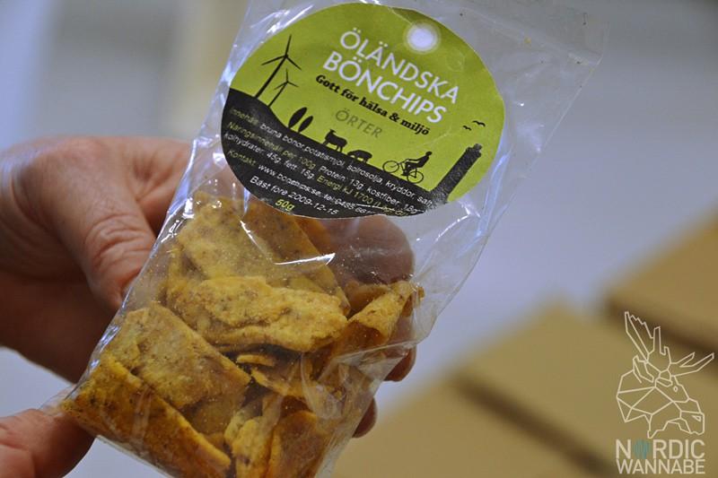 Bohnenchips, braune Bohnen, Öländska Bonchips, Öland, Schweden, Blog, Skandinavien, gesunde Chips, ökologisch, biologisch, gesund, Insel, schwedische Spezialitäten
