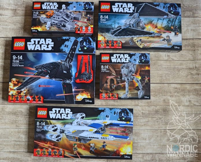 LEGO Star Wars Rogue One Neuheiten, 75152, Hovertank, Dänemark, LEGO, Star Wars, Neuheiten 2017, 2016LEGO Star Wars Rogue One Neuheiten, 75152, Hovertank, Dänemark, LEGO, Star Wars, Neuheiten 2017, 2016